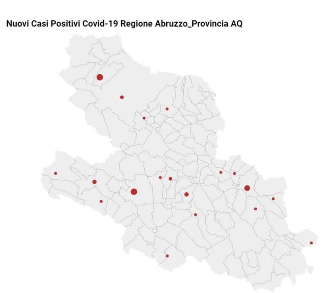 Covid-19 nella Marsica, aggiornamento dati contagi al 19 febbraio