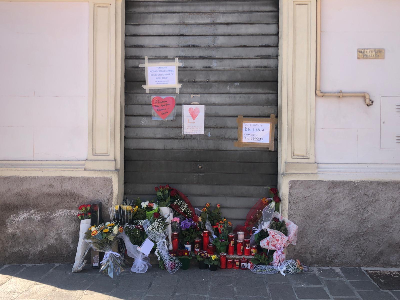 Messaggi di cordoglio e vicinanza alle famiglie di Gian Mauro, Tonino, Valeria e Gianmarco