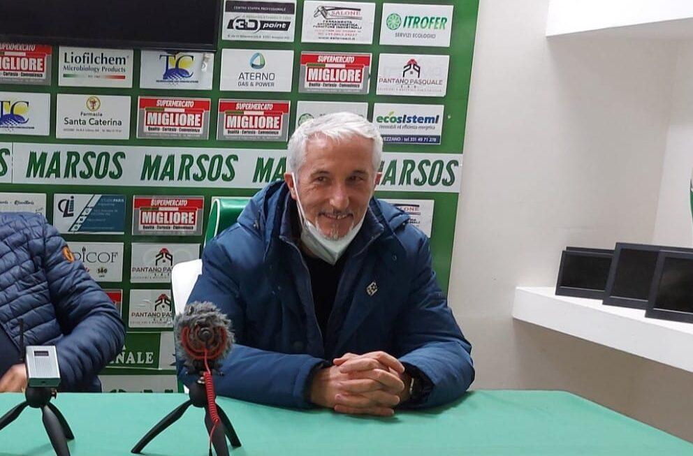 Avezzano Calcio: il nuovo allenatore Antonio Torti ringrazia la società