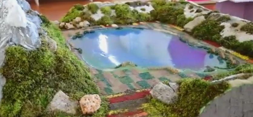Il Lago Scomparso del Fucino, tra le nuove opere dell'Abruzzo in Miniatura