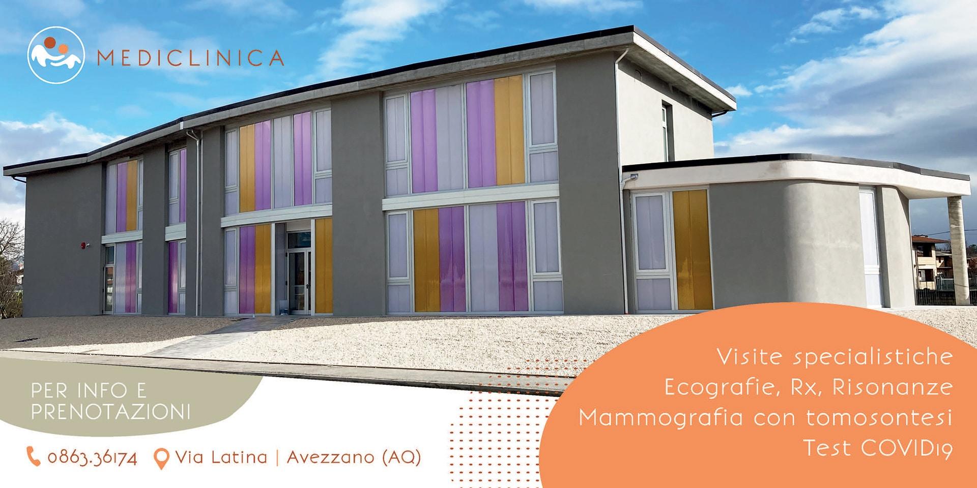 Medilab di Scurcola Marsicana si trasferisce ad Avezzano