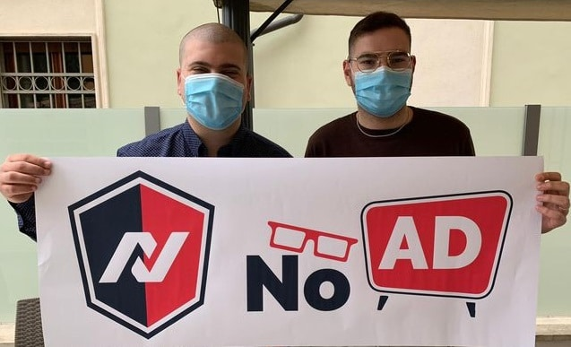 NoAd, l'app inventata da due ragazzi marsicani Anthony Richa e Matteo Tudico