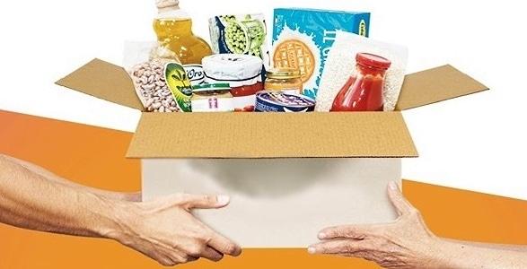Pacco alimentare per famiglie in difficoltà del Comune di Magliano de' Marsi