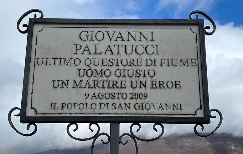 Domani a San Giovanni sarà commemorato l'ex Questore di Fiume Giovanni Palatucci