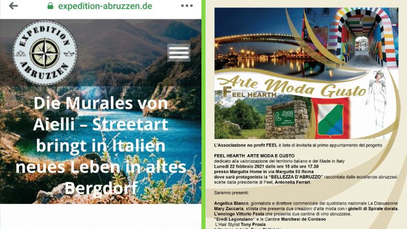 Ancora una volta Aielli e Borgo Universo protagonisti del Made in Italy