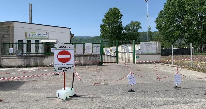 Centro raccolta Tekneko di Avezzano. Serve la dichiarazione sostitutiva per chi vuole accedere al posto dell'intestatario TARI