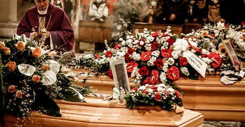Omelia di S.E. Mons. Pietro Santoro pronunciata ai funerali di Valeria, Gianmarco, Gian Mauro e Tonino