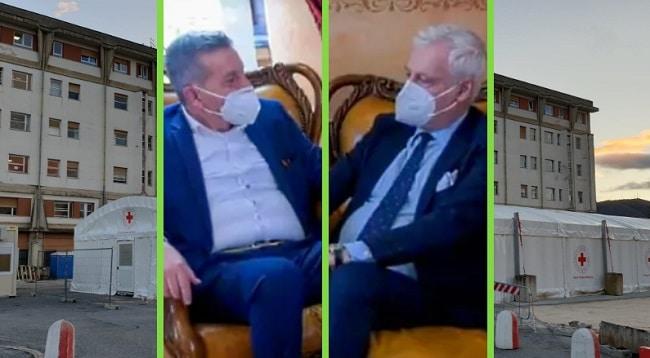 Lavori all'Ospedale di Avezzano e sanità marsicana: incontro tra Gianni Di Pangrazio e Roberto Testa (VIDEO)