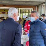 """Ospedale di Avezzano, installato il nuovo macchinario """"Menarini"""" per processare i tamponi Covid-19"""