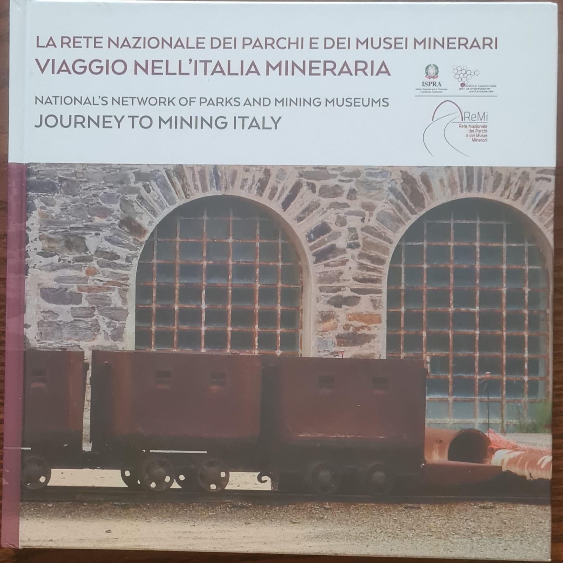 """Il geosito minerario di Lecce nei Marsi nella prestigiosa pubblicazione della """"Rete Nazionale dei parchi e musei minerari"""""""