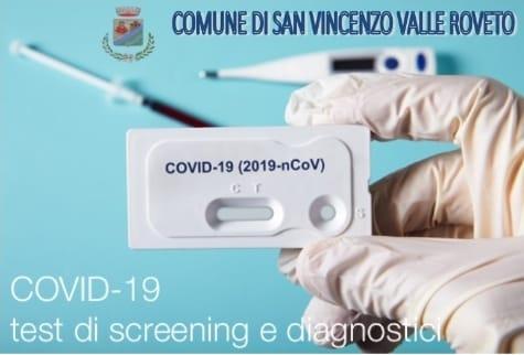 Nessun nuovo caso di positività da covid-19 a San Vincenzo Valle Roveto