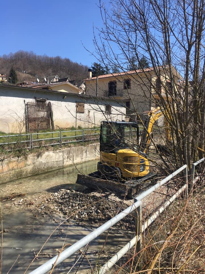 Carsoli, al via i lavori di manutenzione e pulizia del tratto urbano del fiume Turano