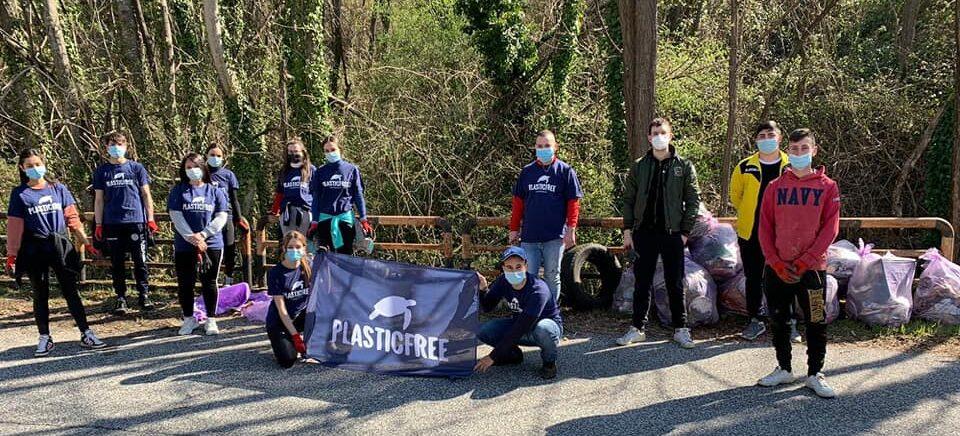 Civita D'Antino sempre più Plastic Free grazie ai giovani volontari