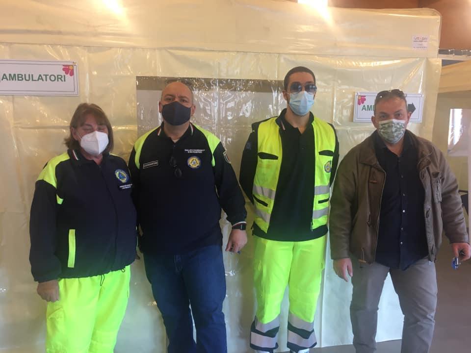 Primo giorno di attività nel Centro Vaccinale di Carsoli, soddisfazione del Sindaco Nazzarro