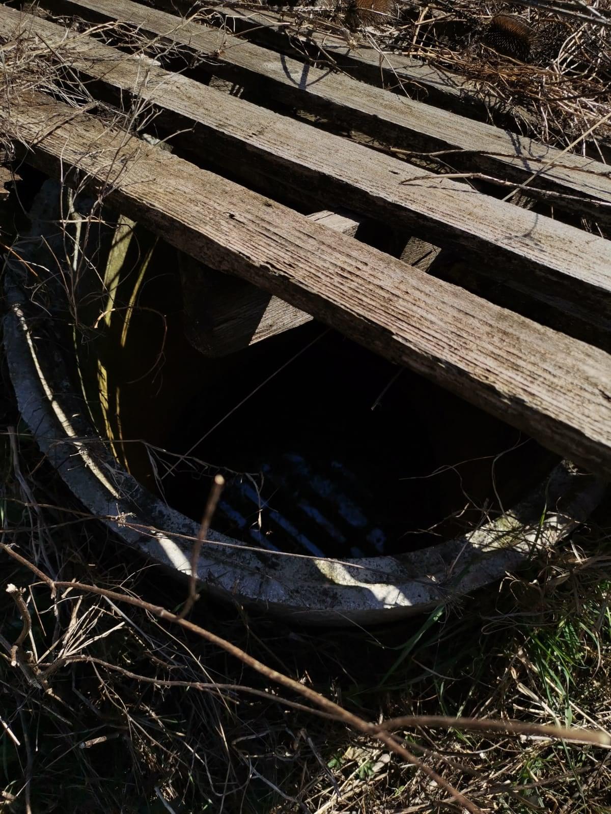 Ex discarica di Castellafiume, sparita la pompa dell'impianto di aspirazione del percolato