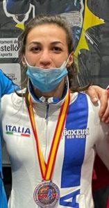 Boxe, medaglia di bronzo per Olena Savchuk al Torneo Boxam 2021 Castellon (Spagna)