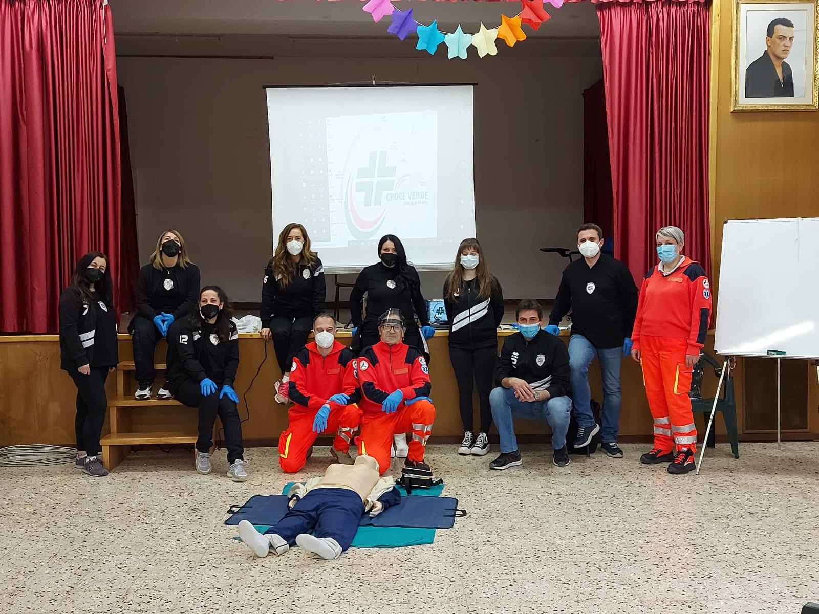 Una giornata all'insegna della sicurezza per l'A.S.D. Leonessa Avezzano con il corso BLS-D