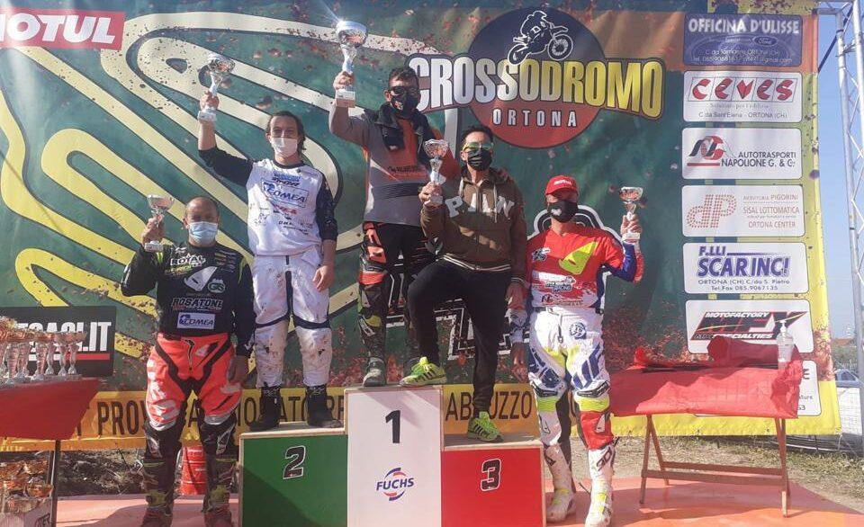 Ottimi risultati degli avezzanesi alla gara di motocross al Crossodromo di Ortona a Mare