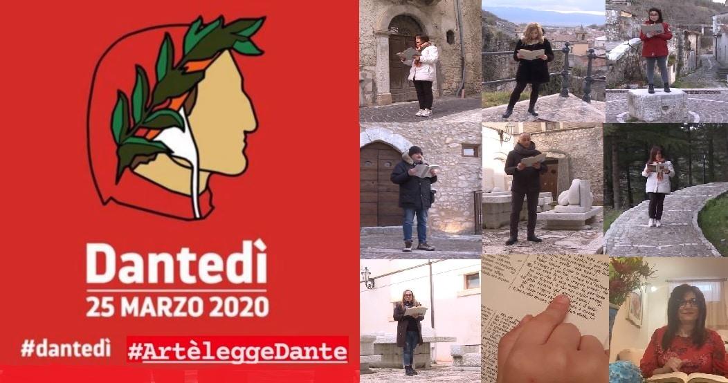 La Divina Commedia, il cammino letterario di Dante nell'aldilà, celebrato in tutta Italia e nella Marsica