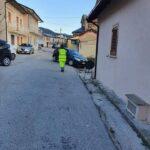 Vaccini e screening con tamponi a Pescina, giornata intensa per volontari, personale sanitario e Polizia Locale