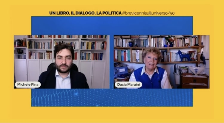 Dacia Maraini e i diritti delle donne nel cinquantesimo incontro della rubrica di Michele Fina