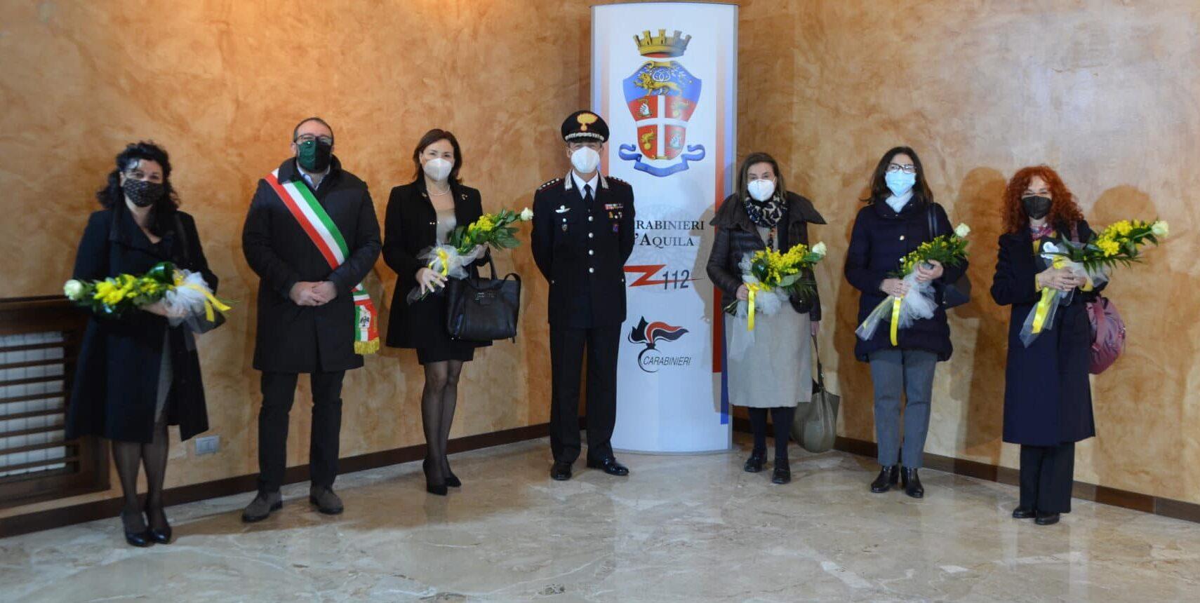 """Inaugurata la """"Stanza tutta per sé"""" al Comando dei Carabinieri di L'Aquila"""