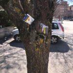Avezzano, situazione di degrado nel parco tra via La Malfa e via Togliatti