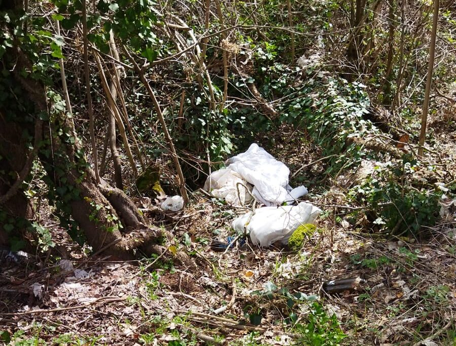 """Grandi accumuli d'immondizia sul Salviano, Avezzano Bene Comune """"A turno ci stiamo impegnando a raccogliere i rifiuti. Chiediamo al sindaco di intensificare i controlli"""""""