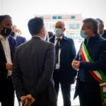 Il Ministro Bianchi plaude all'apertura della nuova scuola di via Pertini ad Avezzano
