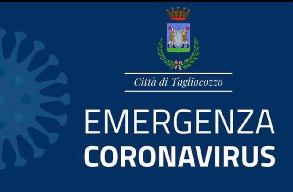 Il sindaco di Tagliacozzo dispone la chiusura anche delle scuole materne per l'aumento dei contagi sul territorio comunale