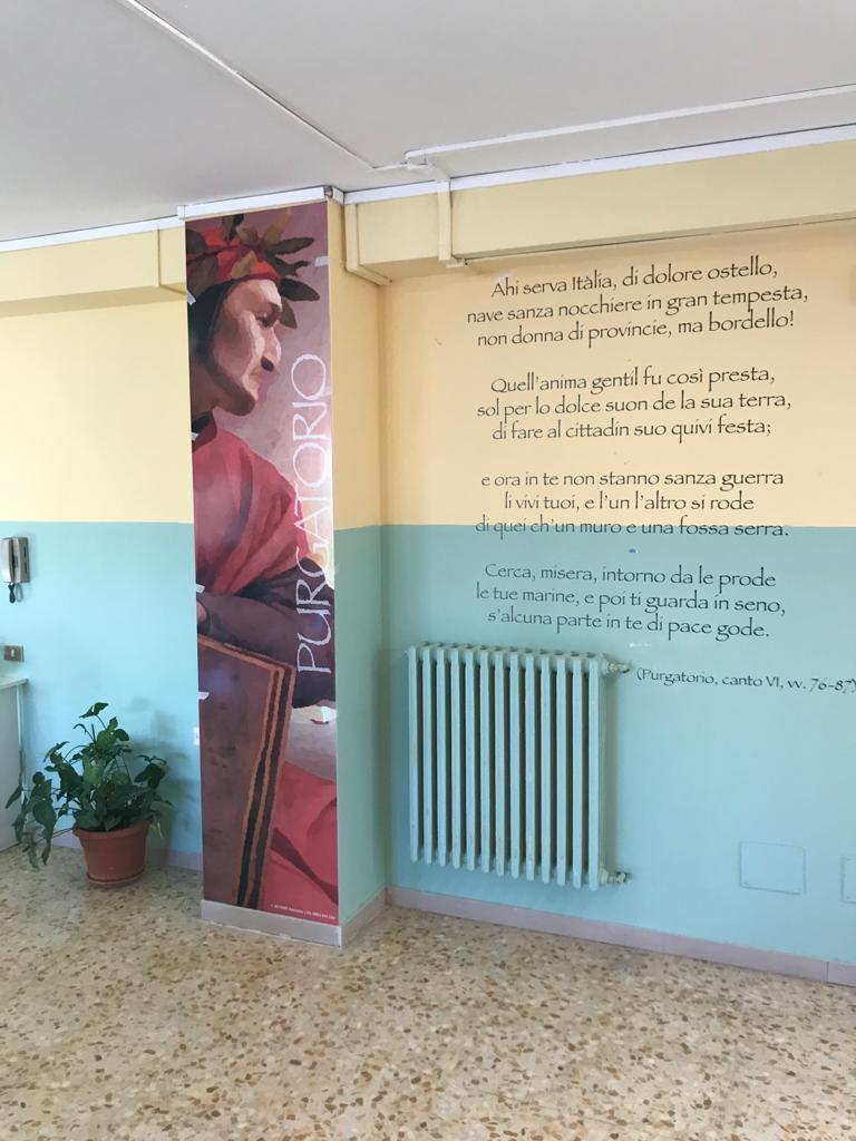"""L'ITIS """"Ettore Majorana"""" di Avezzano rende omaggio a Dante Alighieri"""