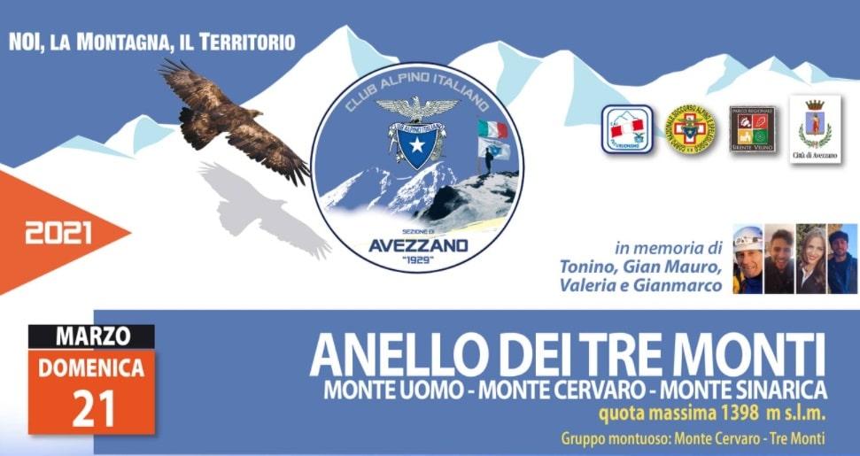 """C.A.I. di Avezzano: annullata l'escursione """"Monte Marine-Pizzoli"""", al suo posto l'escursione """"Anello dei tre monti"""""""