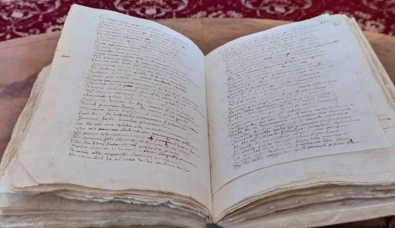 L'Archivio di Stato dell'Aquila celebra Dante con la cronaca di Buccio di Ranallo