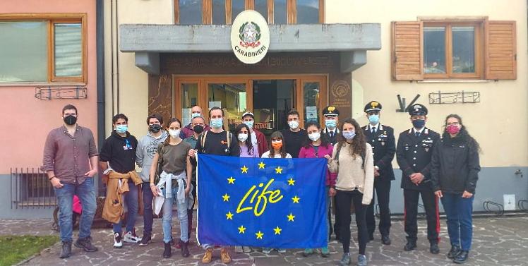 Corpo Europeo di Solidarietà con i Carabinieri a tutela della natura
