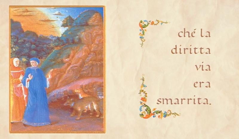 Cartolina filatelica di Poste Italiane per i 700 anni dalla morte di Dante Alighieri