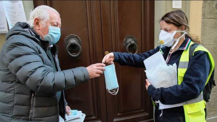 Oricola, la Protezione Civile consegnerà le mascherine a domicilio ai cittadini