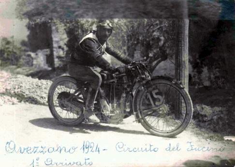 Coppa del Fucino, la competizione motociclistica marsicana degli anni Venti