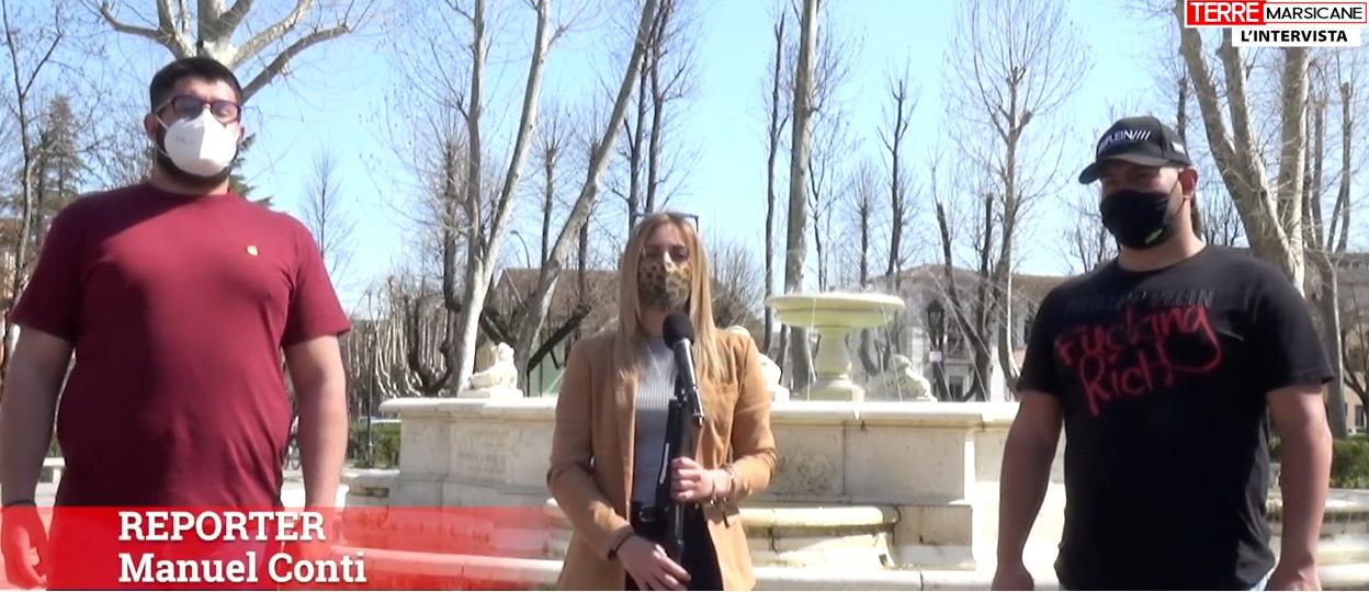 Esorcizzare il covid si può: impazza sui social il video parodia dei due giovani avezzanesi Federico Laguzzi e Claudio Danese