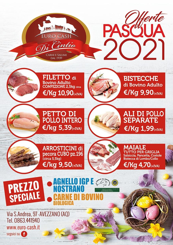 Offerte Pasqua 2021 Euro Cash Avezzano