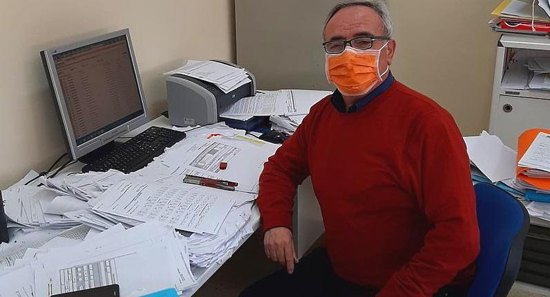"""Franco, funzionario del Comune di Collarmele, va in pensione. Sindaco Mostacci: """"uomo di altissimo livello"""""""