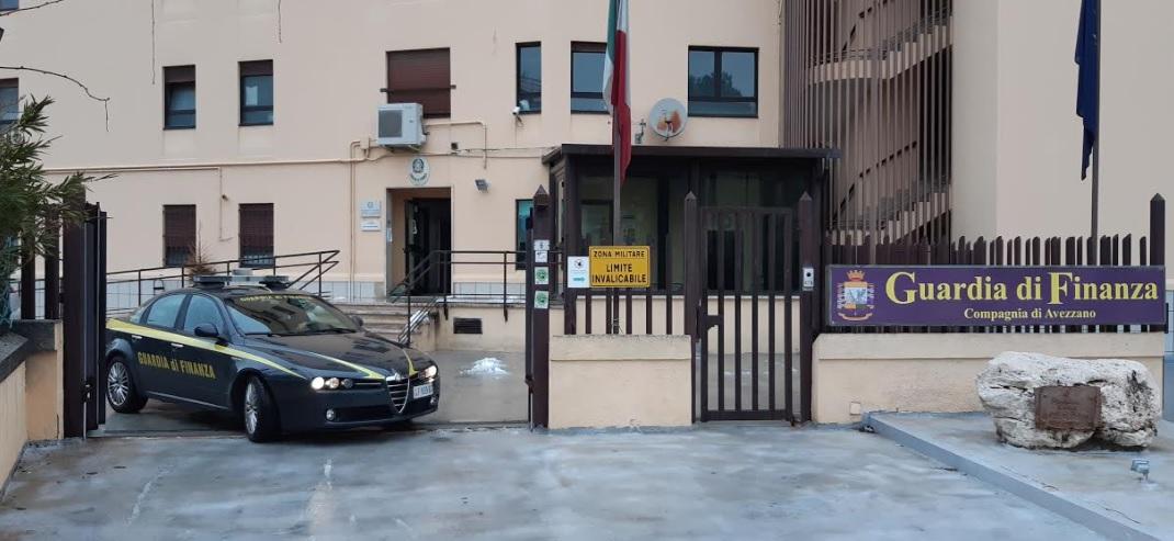 """""""Furbetti"""" reddito di cittadinanza, denunciante 35 persone dalla GdF di Avezzano"""