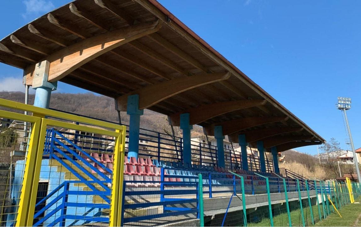 Civitella Roveto, dopo un anno e mezzo di lavoro riaprono gli impianti del campo sportivo