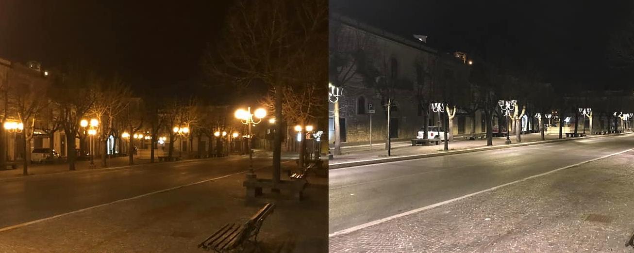 Efficientamento energetico a Scurcola Marsicana: sostituiti tutti i punti luce di Piazza Risorgimento
