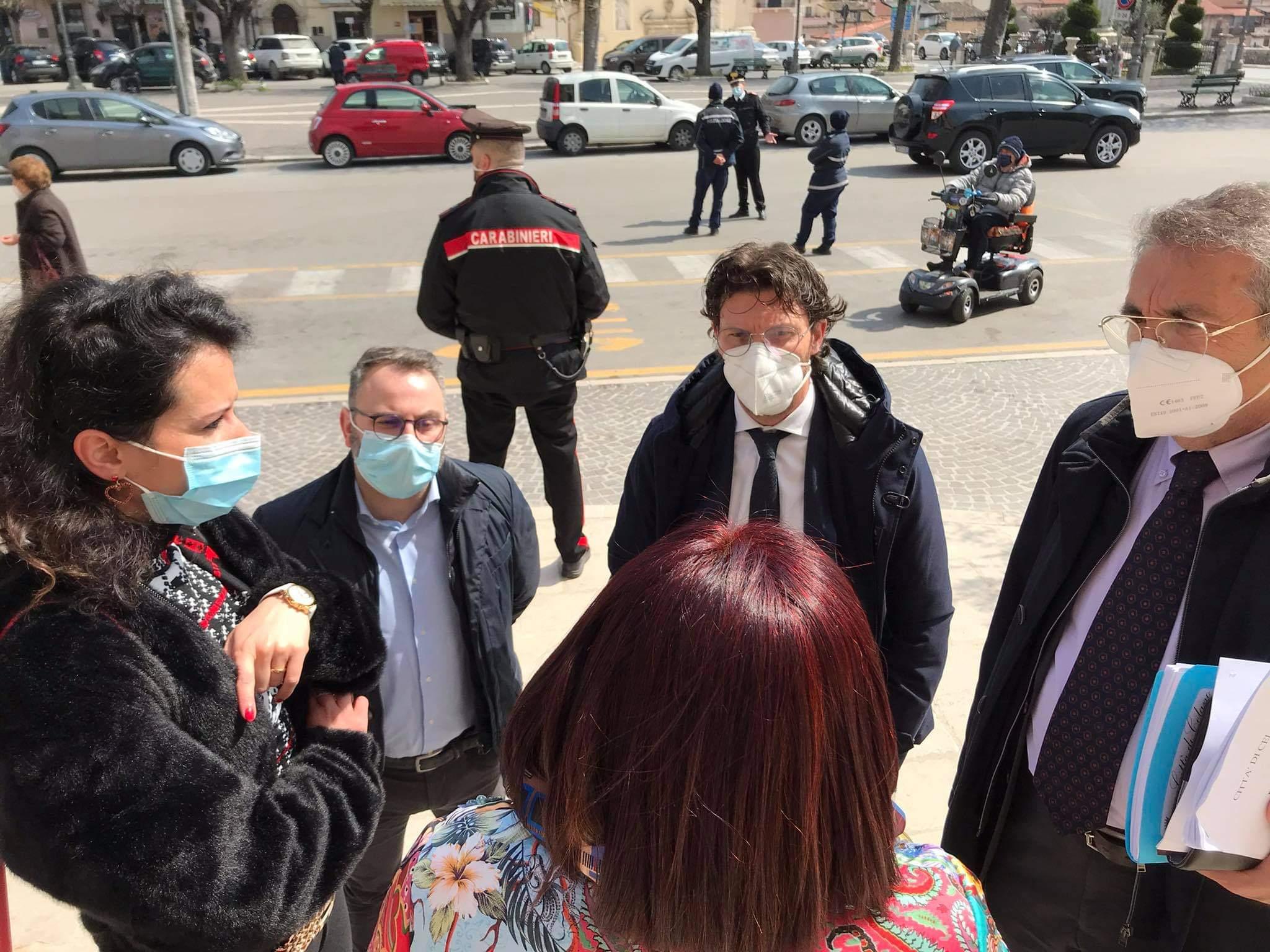 """Celano, delegazione PD e Consiglieri comunali incontrano il Commissario Canale: """"preoccupati per il futuro della comunità."""""""