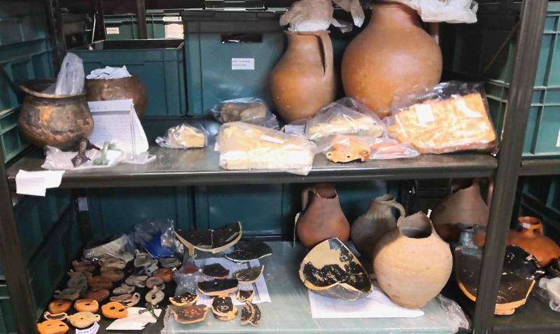 Preziosi reperti archeologici della Marsica pronti per essere esposti ad Alba Fucens e ad Avezzano