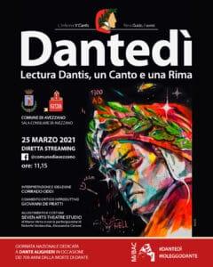 Dantedì, il Comune di Avezzano e Corrado Oddi celebrano Dante Alighieri