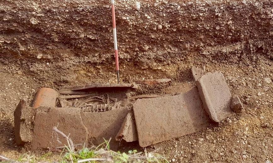 Rinvenuta ad Avezzano una tomba risalente al periodo compreso tra I e II sec. d.C.
