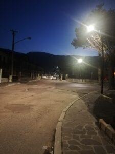 A Capistrello l'illuminazione pubblica è a led: terminati i lavori