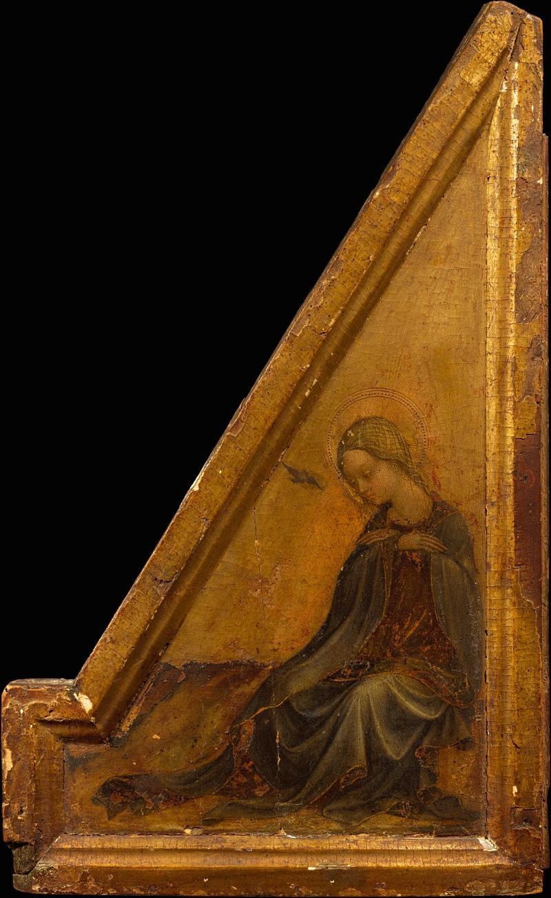 La Vergine annunciata di Andrea Delitio al Metropolitan Museum di New York