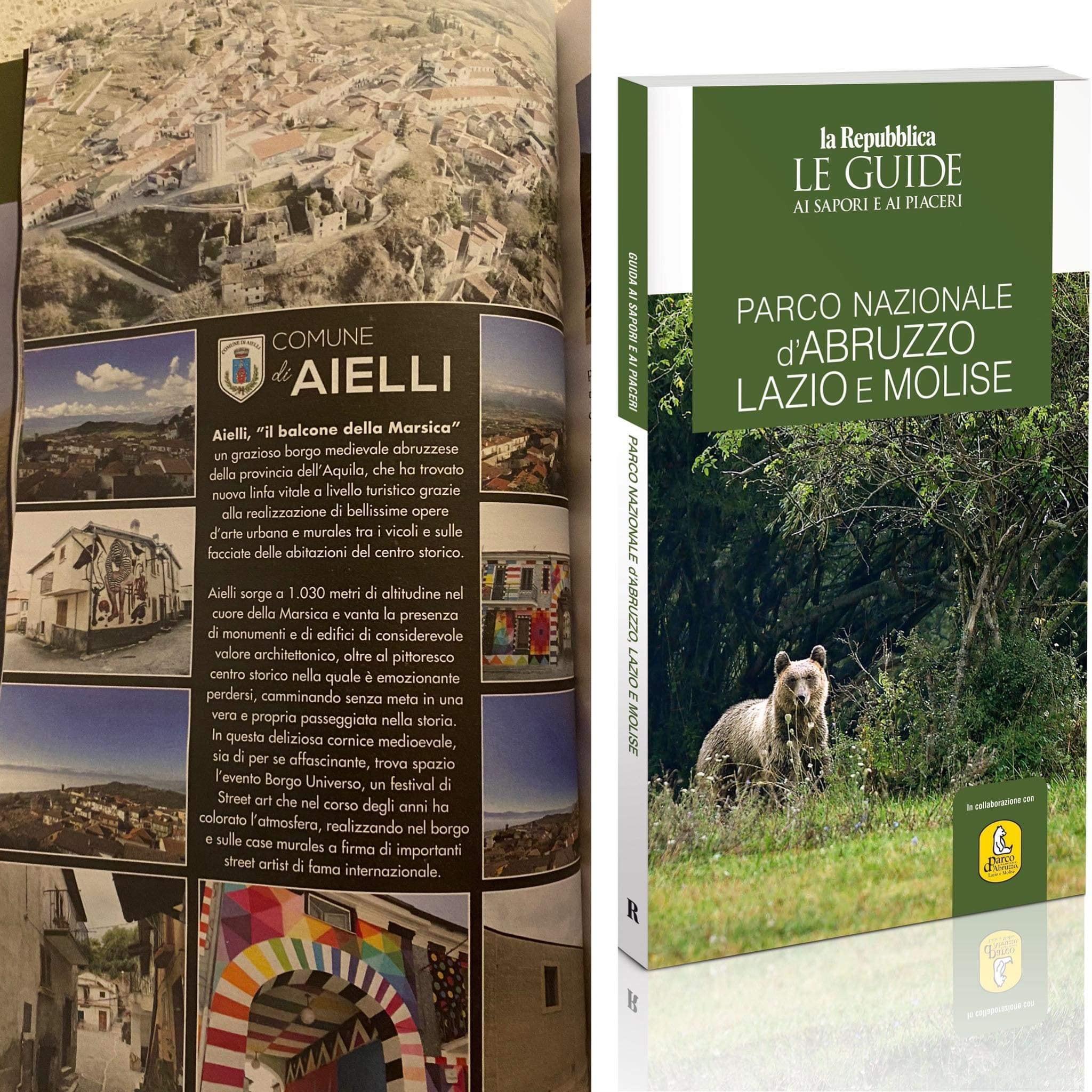 """Aielli, il """"balcone della Marsica"""" su le """"Guide di Repubblica"""""""